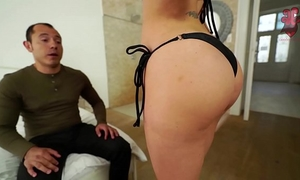 Santy, mexican copulates sexy jasmine jae in the butt