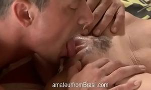 Brazilian dilettante whore drilled and filmed vol. 1
