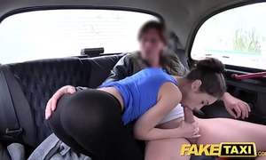 Fake taxi russian unshaved cookie natural milk cans