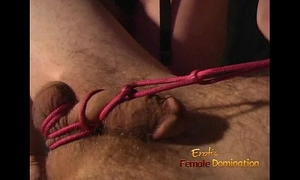 Kinky three-some session in the dungeon with 2 hawt sweethearts