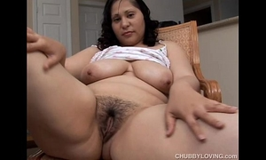 Busty dark brown bbw wants u were fucking her soaked wet crack