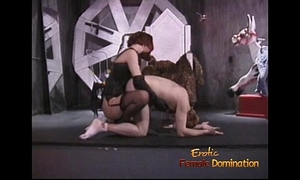 Stunning redhead looker enjoys whipping her incredibly excited paramour sensually