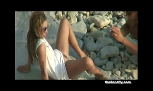 Thesandfly enjoyment and sex games on shores!