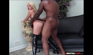 Brutalclips - blondie acquires an anal torture