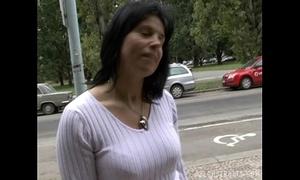 Brunette milf lenka acquires paid for sex