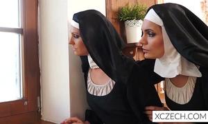 Crazy catholic nuns licking vaginas