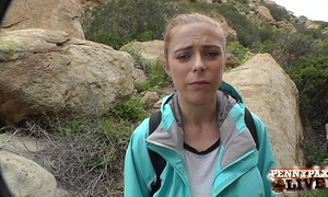 Amazing hiking pov 3some with penny pax and sarah shevon