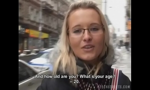 Czech streets - hard decision for these gals