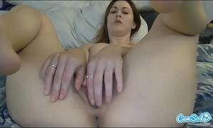 Karlie montana up close masturbation and agonorgasmos on intimate camsoda web camera