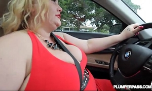 Slutty bbw milf sienna hills cruises hood for some schlong