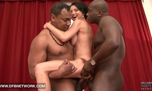 Mature coarse double drilled can't live without large dark schlongs in fur pie and hard anal