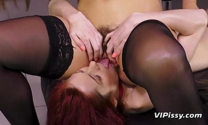 Fetish pissing lesbos acquire soaking soaked and acquire private