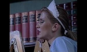 White maid drilled by a slutty dark servant