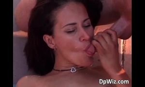 Pretty bushy milf is banging with some