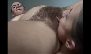 3284167 pt2 bushy lesbos licking and toying their hirsute pussys