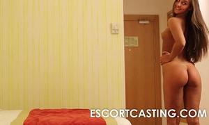 Teen escort secretly filmed fucking client in hotel room
