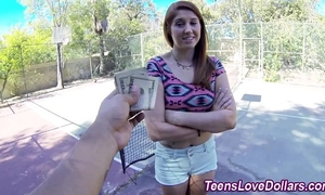 Real legal age teenager goo drenched