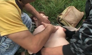Two criminals ambushe a cheating wife for fuck!