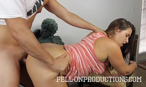 Milf copulates stepson in fucking in the therapist office