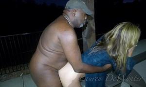 Lauren dewynter - nude at the park