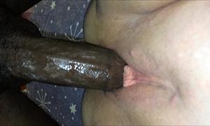Kaylas interracial bang bareback creampie full length
