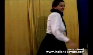Horny hawt indian pornstar chick as school dirty slut wife squeezing large breasts and masturbating part1 - indiansex