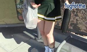 Katie morgan peeing her tight jeans omorashi wetting
