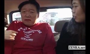 Subtitled japanese public femdom cross dressing fellow