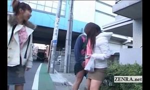 Subtitled mad public japanese crossdressing femdom