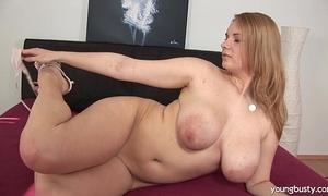 Busty youthful tiana fuck a big sex-toy