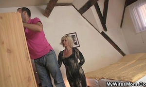 He is enticed by sexually excited mother-in-law