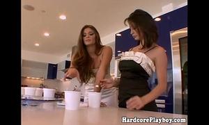Amazing glamour lesbo women oral stimulation enjoyment
