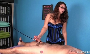 Cock massage castigation