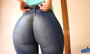 Nominated 4 most excellent a-hole 2014! bubble ass in constricted jeans! yes!