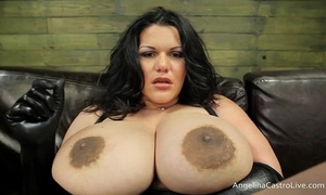 Big titted angelina castro weenies domination!