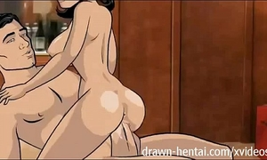 Archer anime - room service
