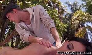 Pierced massaged brandy aniston gangbanged