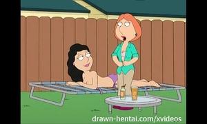 Family fellow anime - backyard lesbian babes
