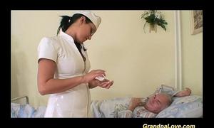 Grandpa sweetheart fucking the nurse
