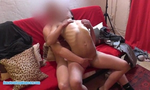 Sexy 18yo gypsy does oral stimulation and acquires vagina fingering