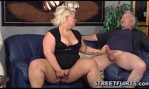 Fat bbw slutty wife likes sex