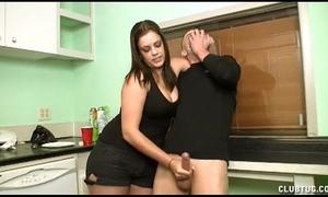 Teen sex bomb cook jerking