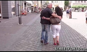Horny casting agent looking for beauties on the streets to fuck