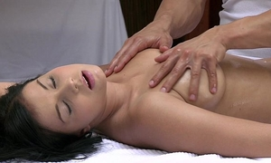 Orgasms marvelous youthful white women has her hawt body massaged and gratified by sexy chap