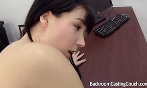 Young mamma assfuck and creampie casting