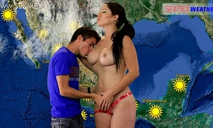 Slut weather-girl receives screwed by tv assistant