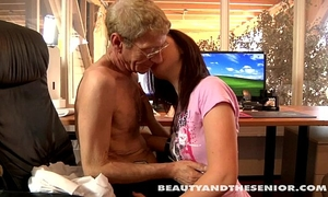 Teen cutie acquires screwed by a senior