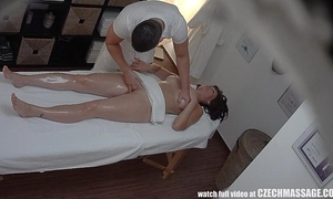 Busty milf receives screwed during massage