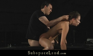 Pervert doxy stephanie dominated and fucked right into an asshole in thraldom