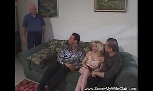 Hit interracial milf swinger sex